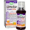 Nature's Way, Umcka, Cold+Flu, Fructose-Free Syrup, Orange Flavor, 4 oz (120 ml) (Discontinued Item)