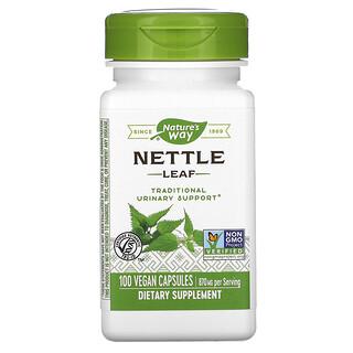 Nature's Way, Nettle Leaf, 435 mg, 100 Vegan Capsules