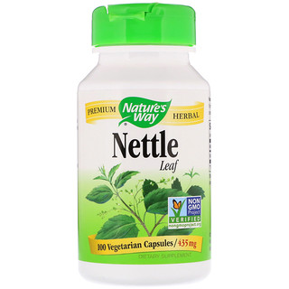 Nature's Way, Nettle Leaf, 435 mg, 100 Vegetarian Capsules
