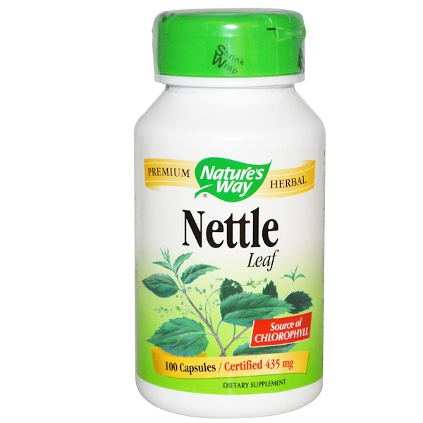 Nature's Way, Nettle Leaf, 435 mg, 100 Capsules