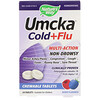 Nature's Way, Umcka, Cold + Flu, Berry , 20 Chewable Tablets