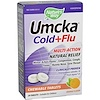 Nature's Way, Umcka, Cold+Flu, Orange Flavor, 20 Chewable Tablets