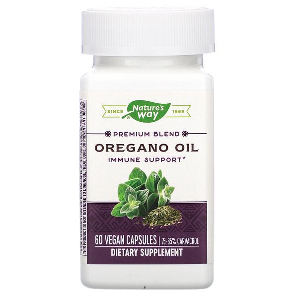 Óleo de Orégano, Padronizado, 60 Cápsulas Vegetais