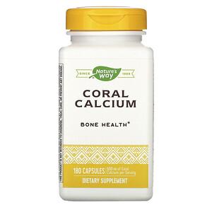 Натурес Вэй, Coral Calcium, 600 mg, 180 Capsules отзывы покупателей