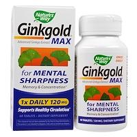 Ginkgold макс, 120 мг, 60 таблеток - фото