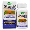 Nature's Way, Ginkgold Max, 120 mg, 60 tabletes