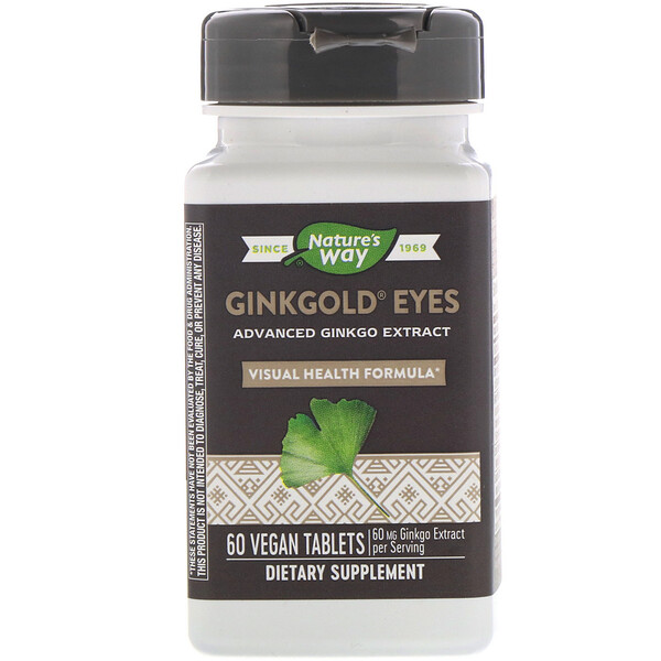 Ginkgold Eyes, 60 Vegan Tablets