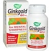 Nature's Way, Ginkgold, Memory & Concentration, 60 mg, 150 Tablets