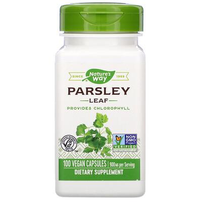 Parsley Leaf, 900 mg, 100 Vegan Capsules