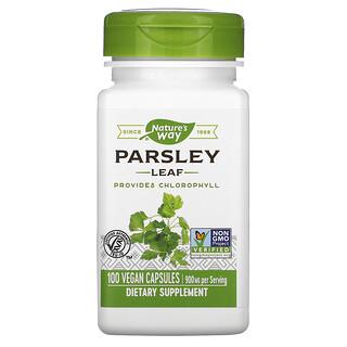 Nature's Way, Parsley Leaf, 450 mg, 100 Vegan Capsules