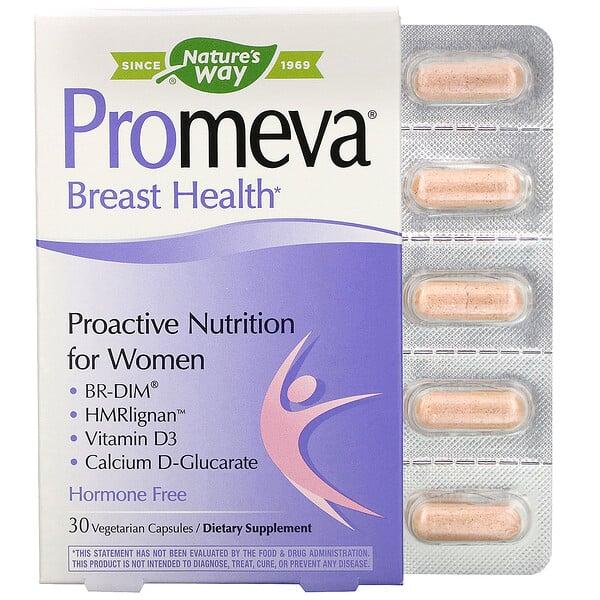 Nature's Way, Promeva, Breast Health, 30 Vegetarian Capsules