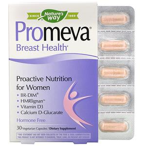 Натурес Вэй, Promeva, Breast Health, 30 Vegetarian Capsules отзывы покупателей
