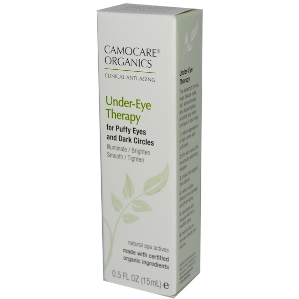 Nature's Way, CamoCare Organics, Under-Eye Therapy, 0.5 fl oz (15 ml) (Discontinued Item)