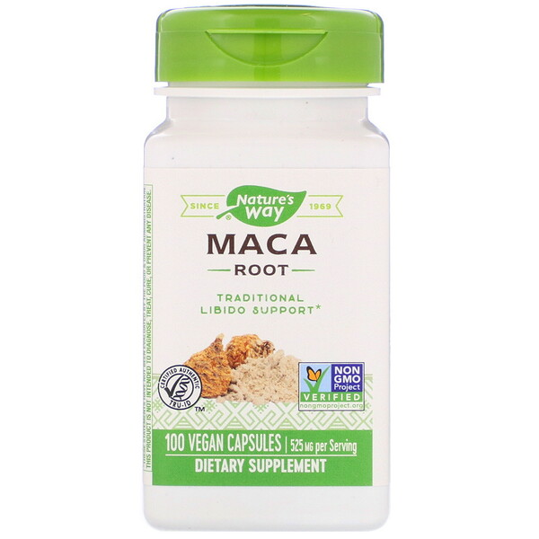 Maca Root, 525 mg, 100 Vegan Capsules