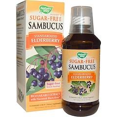 Nature's Way, Sambucus, 표준화된 딱총나무 열매, 무설탕, 8 액량 온스 (240 ml)