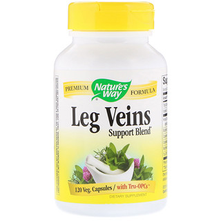 Nature's Way, Leg Veins Support Blend, 120 Veg Capsules