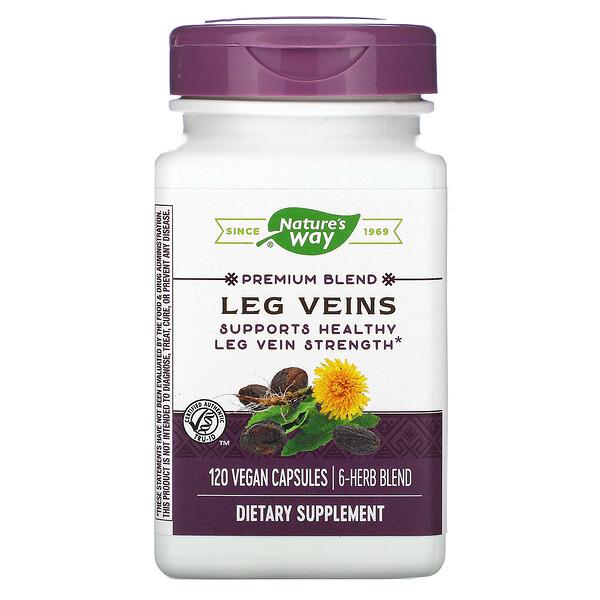 Leg Veins, Premium Blend, 120 Vegan Capsules