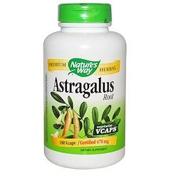 Nature's Way, Astragalus Root, 470 mg, 180 Veggie Caps