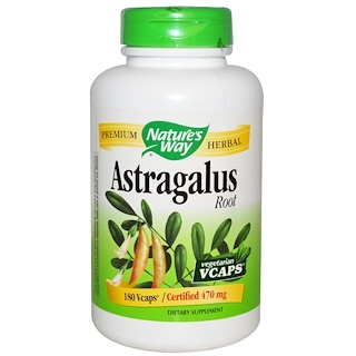Nature's Way, Astragalus Root, 470 mg, 180 Veggie Caps