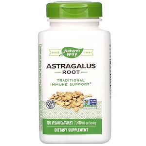 Натурес Вэй, Astragalus Root, 1,410 mg, 180 Vegan Capsules отзывы покупателей