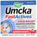 Умка, быстрое действие, облегчение при простуде, вишневый аромат, 10 пакетиков с порошком - изображение