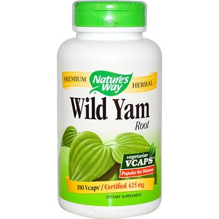 Nature's Way, Wild Yam Root, 425 mg, 180 Veggie Caps