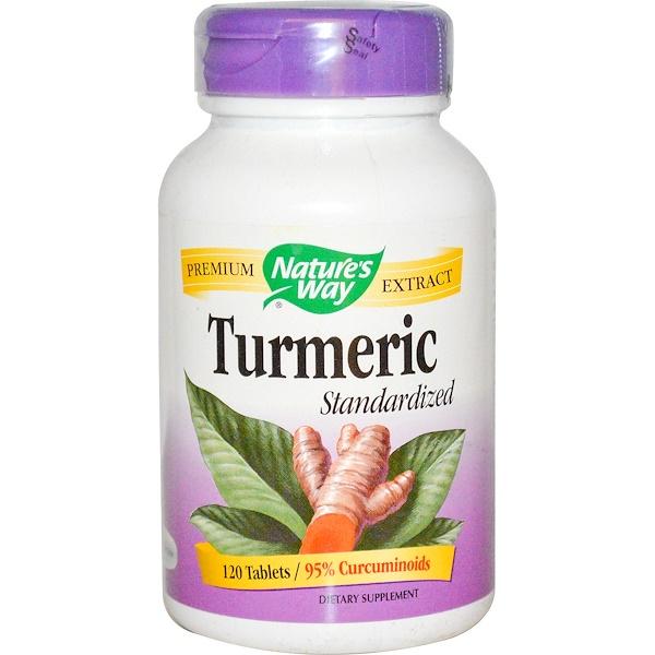 Nature's Way, Turmeric Standardized, 120 Tablets