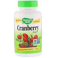 Cranberry Fruit, 465 mg, 180 Vegetarian Capsules - фото