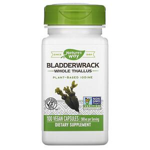 Натурес Вэй, Bladderwrack, 580 mg, 100 Vegan Capsules отзывы покупателей
