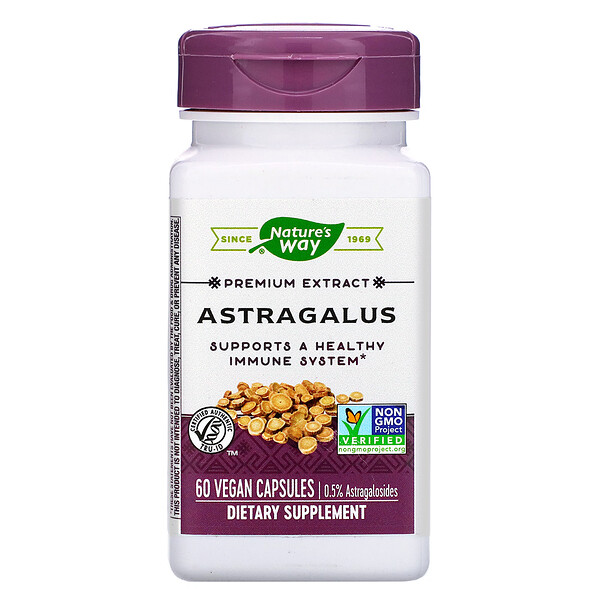 Astragalus, 60 Vegan Capsules