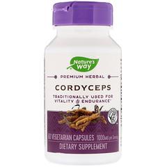 Nature's Way, Cordyceps, 1000 mg, 60 Vegetarian Capsules