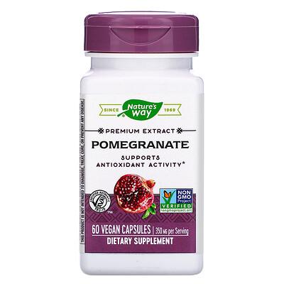 Фото - Premium Extract, Pomegranate, 350 mg, 60 Vegan Capsules grapefruit seed 250 mg 60 vegan capsules