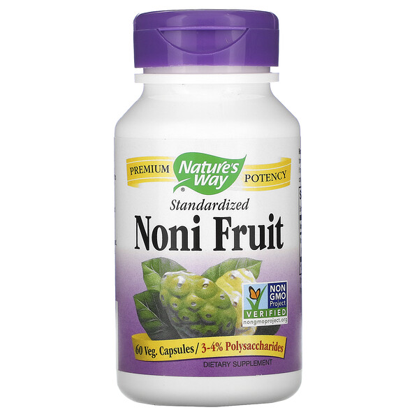 Noni Fruit, Standardized, 60 Veg Capsules