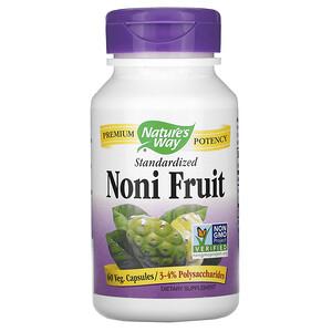 Натурес Вэй, Noni Fruit, Standardized, 60 Veg Capsules отзывы