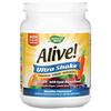 Nature's Way, Alive! Ultra Shake, Vanilla, 2.08 lbs (945 g)