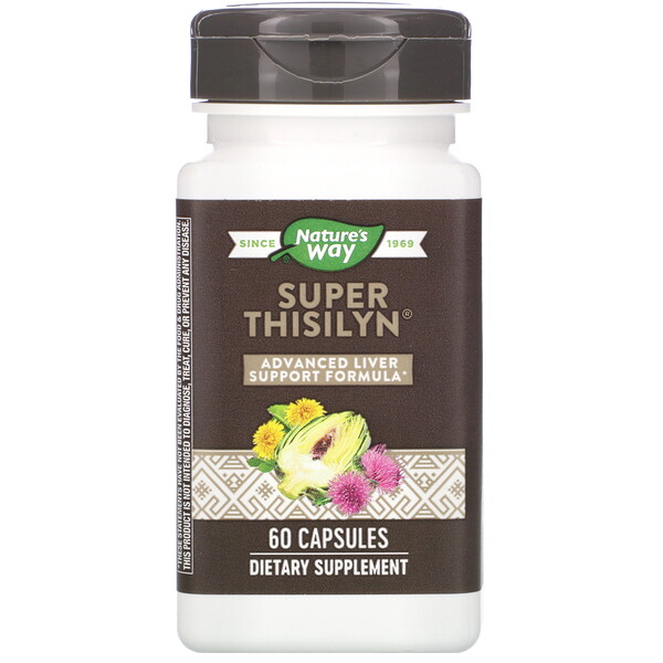 Nature's Way, Super Thisilyn, Advanced Liver Support Formula, 60 Capsules
