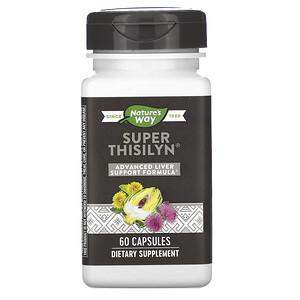Натурес Вэй, Super Thisilyn, Advanced Liver Support Formula, 60 Capsules отзывы