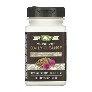 Nature's Way, Thisilyn Daily Cleanse, 90 Vegan Capsules