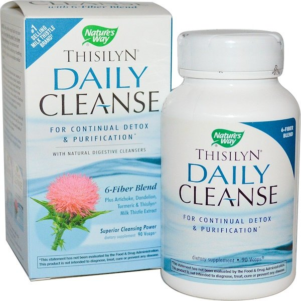 Nature's Way, Thisilyn Daily Cleanse, 90 Veggie Caps