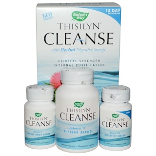 Nature's Way, Thisilyn Cleanse with Herbal Digestive Sweep, 15 Day Program