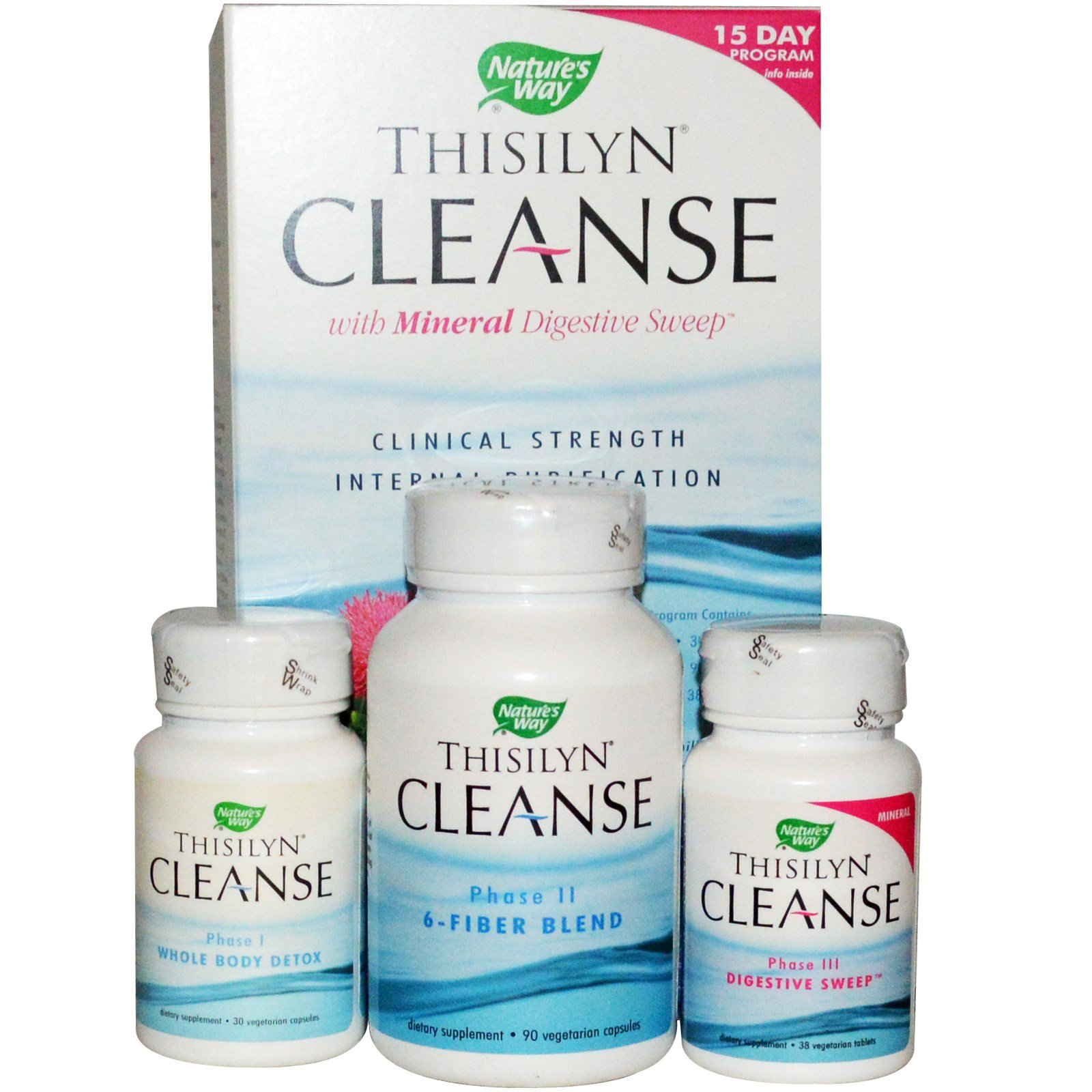 Nature\'s Way, Thisilyn Cleanse with Mineral Digestive Sweep, 15 ...