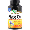Nature's Way, EFAGold, Flax Oil, Max Strength, 1,300 mg, 200 Softgels