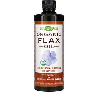 Натурес Вэй, Organic Flax Oil, 24 fl oz (720 ml) отзывы покупателей