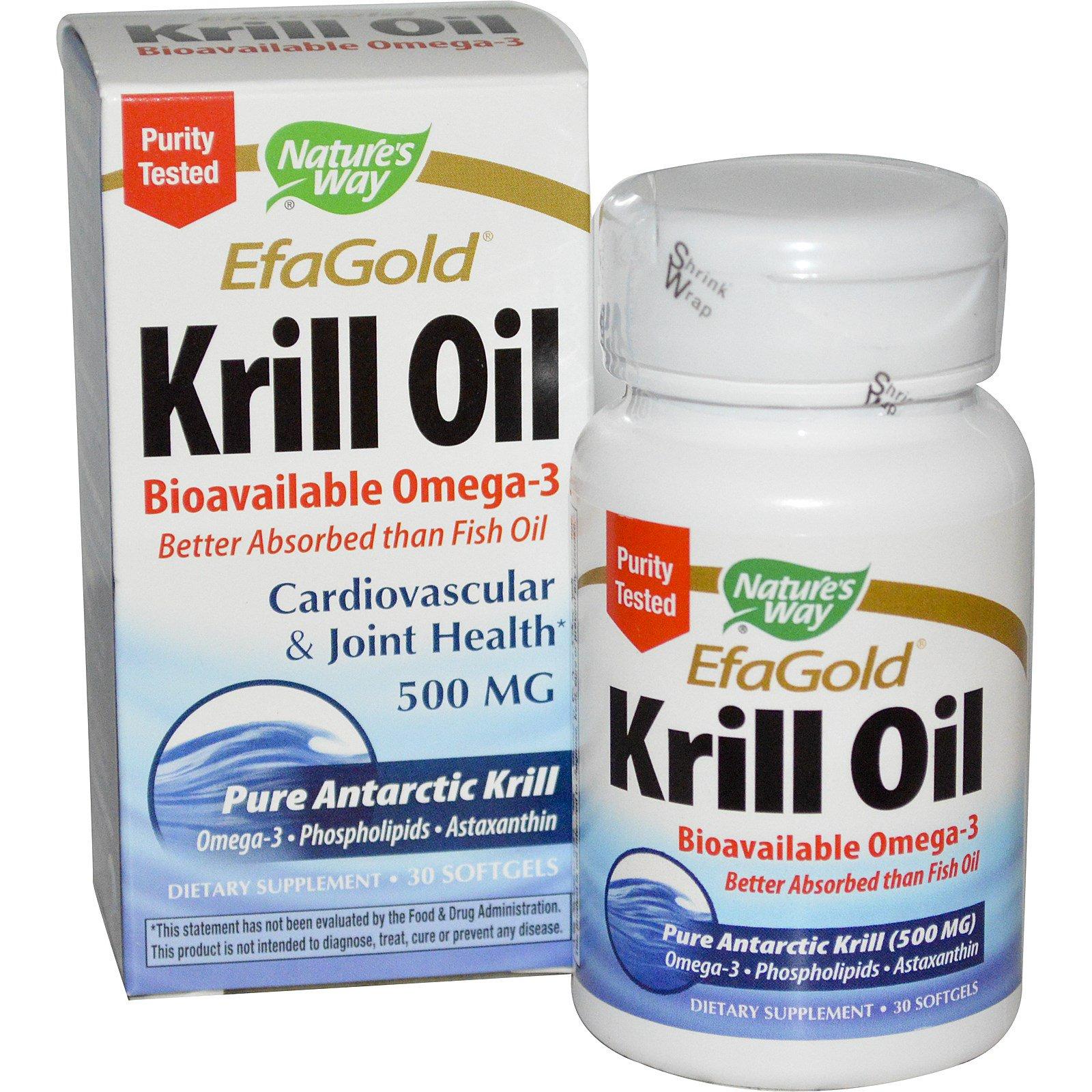 Krill Oil Nature S Way  Softgels