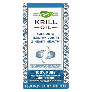 Nature's Way, Krill Oil, 60 Softgels