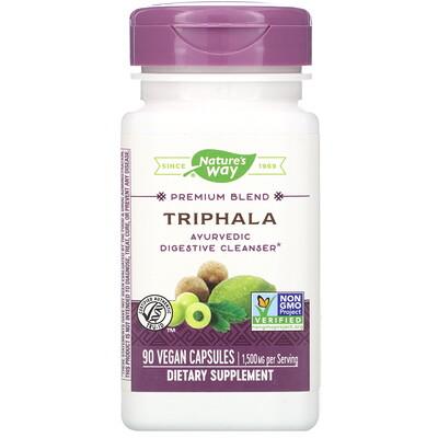 Nature's Way Premium Blend, Triphala, 90 Vegan Capsules