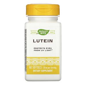 Натурес Вэй, Lutein, 20 mg, 60 Softgels отзывы покупателей