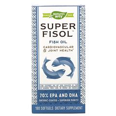 Nature's Way, 超級 Fisol,魚油,180 粒軟凝膠