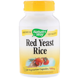 Nature's Way, Red Yeast Rice, 600 mg, 120 Vegetarian Capsules