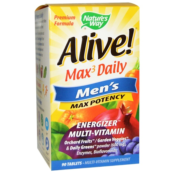 Nature S Way Alive Max Daily Reviews